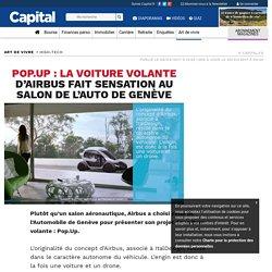 Pop.Up fait sensation au salon de l'auto de Genève !