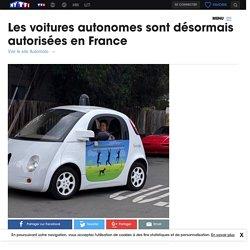 Les voitures autonomes sont désormais autorisées en France - Automoto