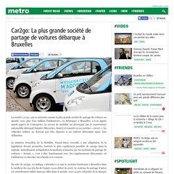 Car2go: La plus grande société de partage de voitures débarque à Bruxelles