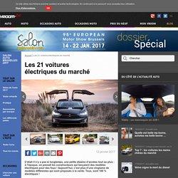 Les 21 voitures électriques du marché