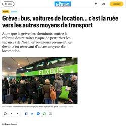 Grève : bus, voitures de location… c'est la ruée vers les autres moyens de transport