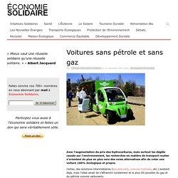 Voitures sans pétrole et sans gaz