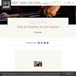 Voix de femmes et airs marins