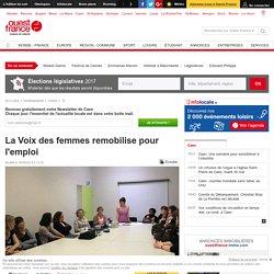 La Voix des femmes remobilise pour l'emploi - 2013
