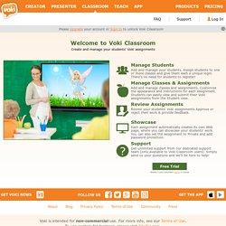 Voki - Classroom