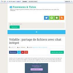 Volafile : partage de fichiers avec chat intégré