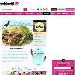 Canard : La recette idéale de canard sur Cuisine AZ.