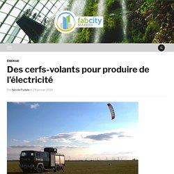 Des cerfs-volants pour produire de l'électricité – FabCity Makers