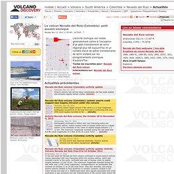 Le volcan Nevado del Ruiz (Colombie): petit essaim sismique