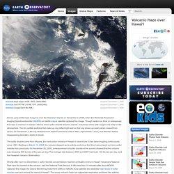 Volcanic Haze over Hawai'i