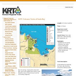 WT5: Volcanic Vents of Soda Bay - Konocti Regional Trails