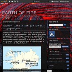 Islande - Zone volcanique sud-est : l'Eyjafjallajökull.