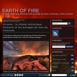 Arizona - le champ volcanique Uinkaret et les barrages de lave du Colorado