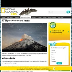 Volcano Facts
