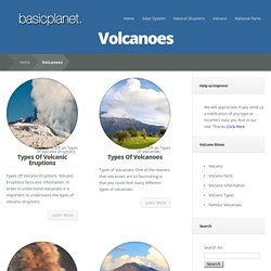 Volcanoes - Earth Facts and Information