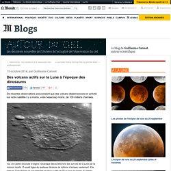 Des volcans actifs sur la Lune à l'époque des dinosaures