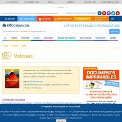 Les volcans, activités pour enfants.