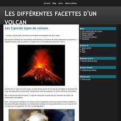 Les 2 grands types de volcans - Les différentes facettes d'un volcan