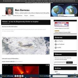Volcans - au tour du Zhupanovsky d'entrer en éruption -