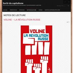 Voline - La révolution russe