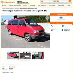 Volkswagen multivan california aménagé TDi 102 Caravaning Pyrénées-Atlantiques