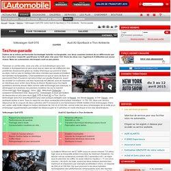 Volkswagen Golf GTE contre Audi A3 Sportback e-Tron Ambiente - Techno-parade