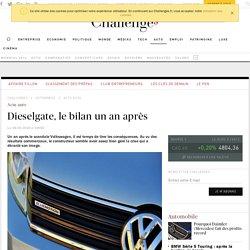 Scandale des Diesel Volkswagen, le bilan du Dieselgate un an après - Challenges.fr