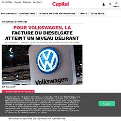 Pour Volkswagen, la facture du dieselgate atteint un niveau délirant