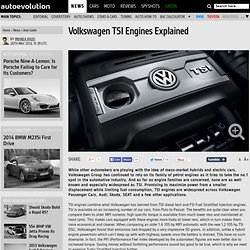 Volkswagen TSI Engines Explained