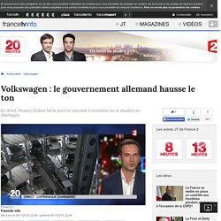 Volkswagen : le gouvernement allemand hausse le ton