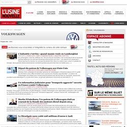 Volkswagen – Actualité économique et industrielle de Volkswagen