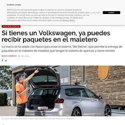 Si tienes un Volkswagen, ya puedes recibir paquetes en el maletero