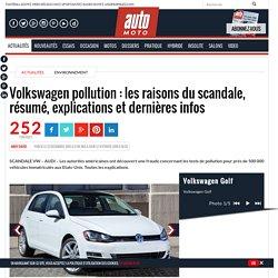 Volkswagen pollution : les vraies raisons du scandale et les dernières infos [LIVE]