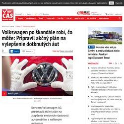 MAREK CHOVANEC...! Volkswagen pripravil akčný plán