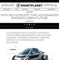 With Nils concept car, Volkswagen imagines urban future