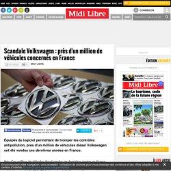 Scandale Volkswagen : près d'un million de véhicules concernés en France