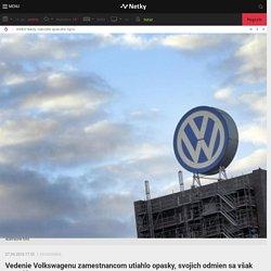 Vedenie Volkswagenu zamestnancom utiahlo opasky, svojich odmien sa však nevzdá