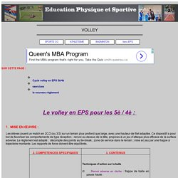 VOLLEY et EPS
