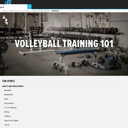 Volleyball Training 101 - A Program For Successful Players!