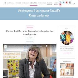 Classe flexible : une démarche volontaire des enseignants