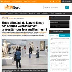 Etude d'impact du Louvre-Lens : des chiffres volontairement présentés sous leur meilleur jour