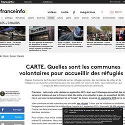 CARTE. Quelles sont les communes volontaires pour accueillir des réfugiés ?