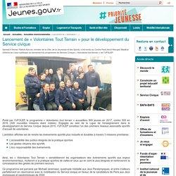 Lancement de « Volontaires Tout Terrain » pour le développement du Service civique