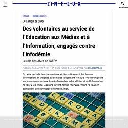 Des volontaires au service de l'Education aux Médias et à l'Information engag...