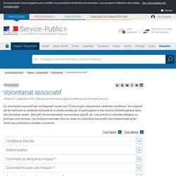 Volontariat associatif