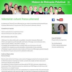 Volontariat culturel franco-allemand