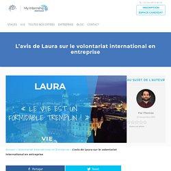 L'avis de Laura sur le volontariat international en entreprise