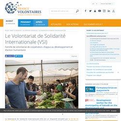 Volontariat humanitaire de solidarité internationale VSI, volontariat longue durée, mission VSI