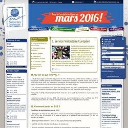 Volontariat > Service Volontaire Européen