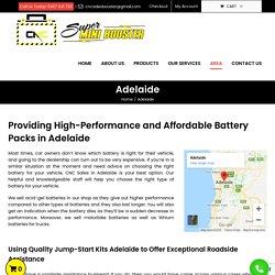 G7, G4++, 12 & 24 Volt Lithium & Acid Gel Battery Pack in Adelaide